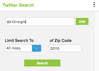 Geo-location Filter
